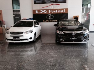 LX MODE CAMRY 2015 Black Libra