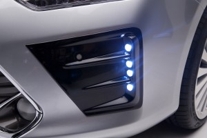 LX MODE CAMRY 2015 Bumper Garnish LED