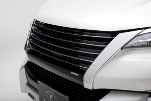 LX Fortuner 2015 -Markless Grille